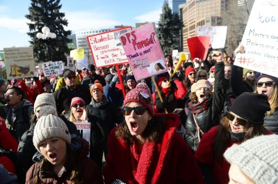 The Latest: District says 58 percent of Denver teachers out | WTOP