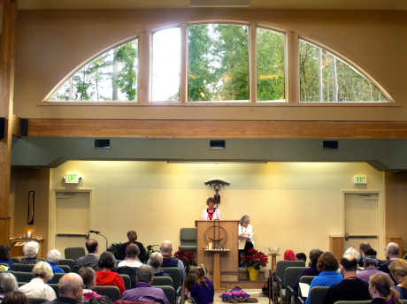 WUUC Welcomes Rev. Lo Back from Sabbatical