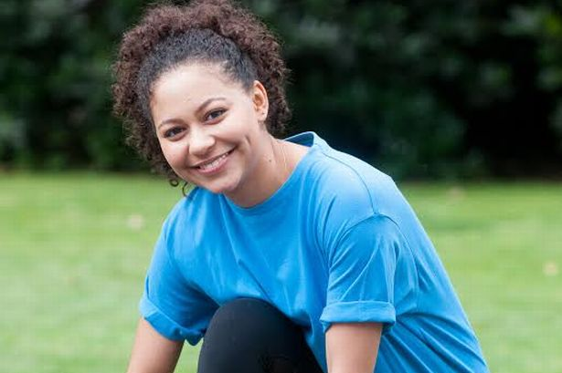Hollyoaks actor Kassius Nelson who plays Jade Albright