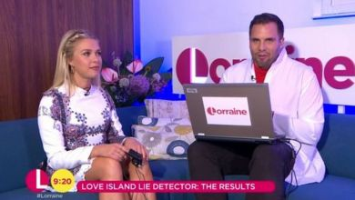 Photo of Gabby Allen from Love Island takes another lie detector test live on TV