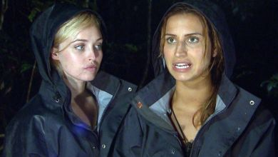 Photo of Storm breaks out in I'm a Celebrity Jungle as Jorgie Porter takes part in challenge