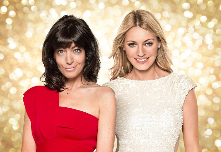 Strictly Come Dancing hosts Claudia Winkleman (left) and Tess Daly