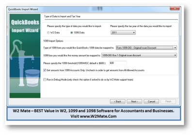 2011 1099-OID Software from W2Mate.Com Released with Tools to Print and E-File 1099OID Forms in 2012
