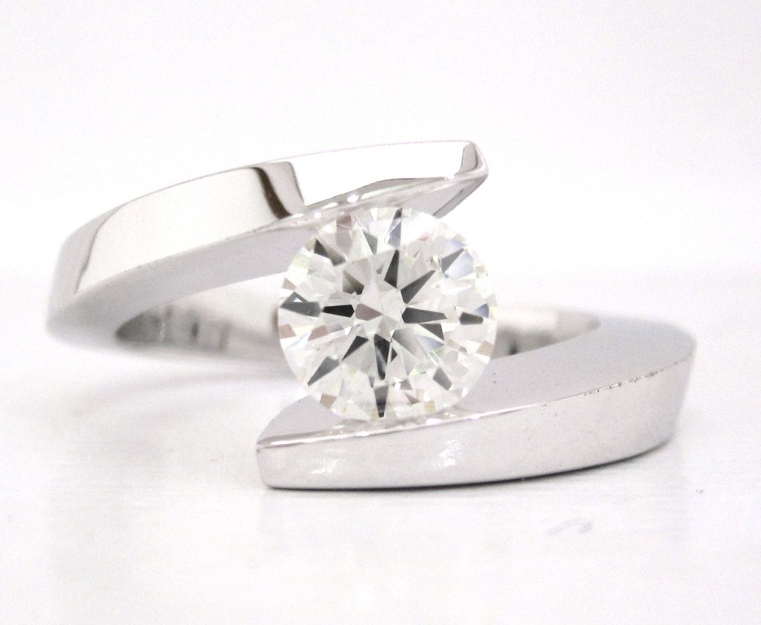 prweb modern wedding rings Contemporary Engagement Ring