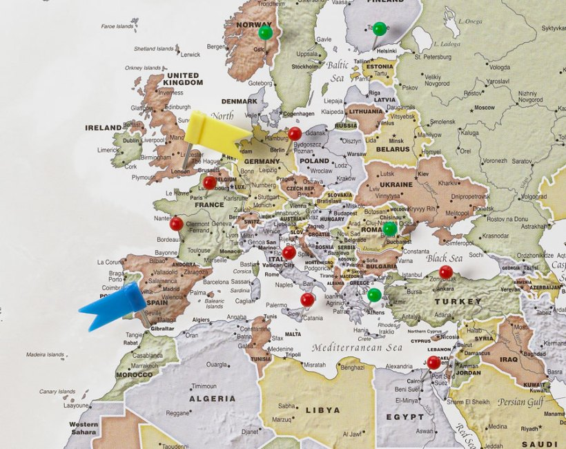 Create Your World Travel Map Yoktravelscom - World map to mark your travels