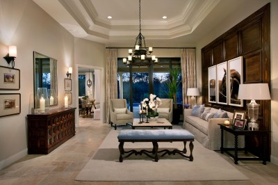 Two Model Homes by Marc-Michaels Interior Design, Inc ...