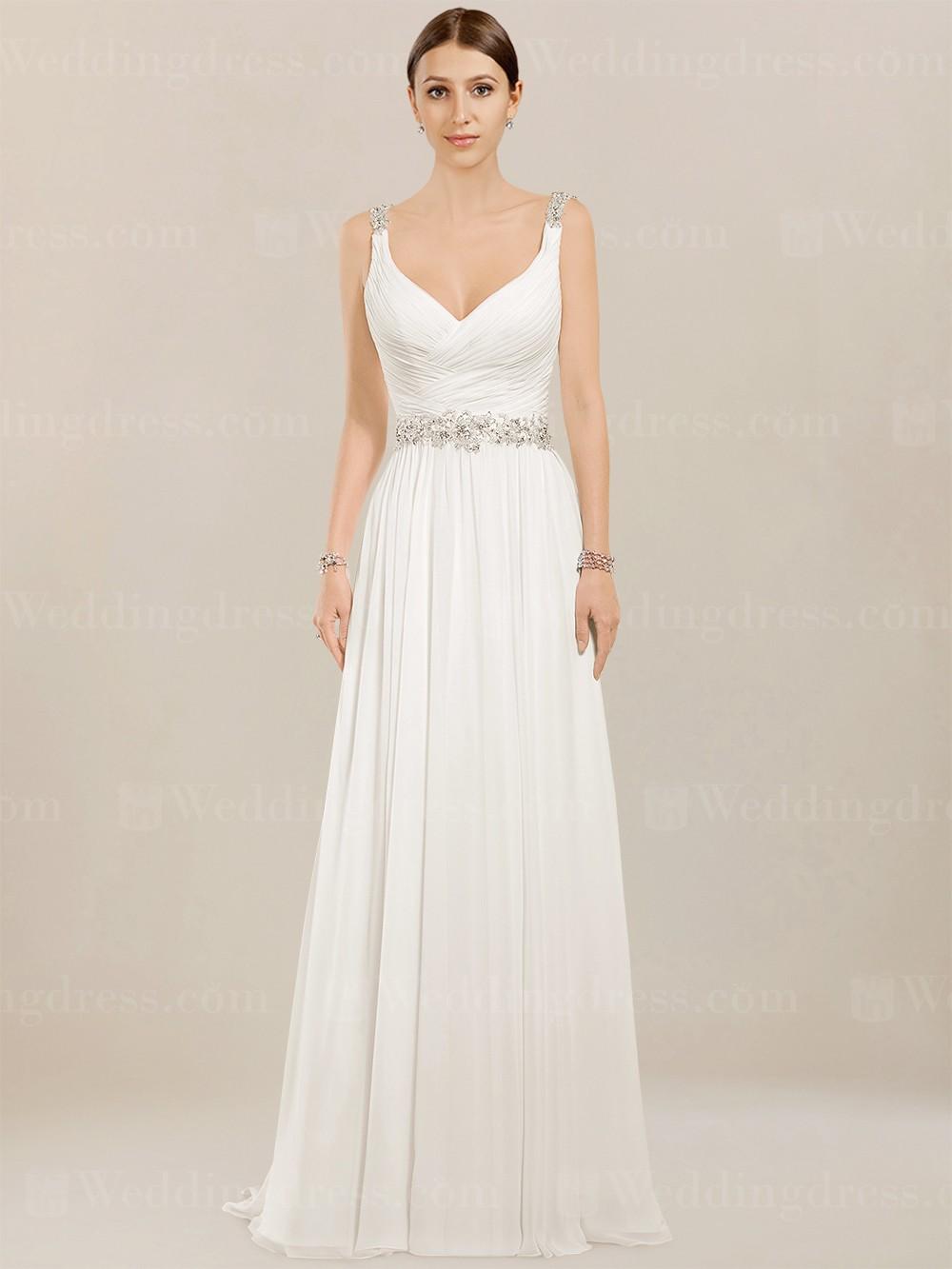 prweb beach wedding dress