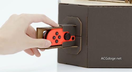 硬盒玩家,任天堂推出NS 與紙板結合的全新玩法Nintendo Labo