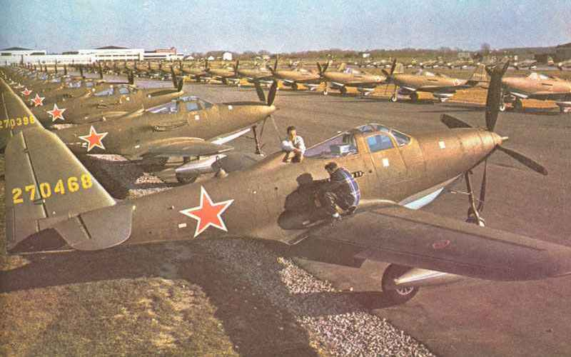 Lend-Lease tanks and aircrafts