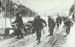 German infantry becomes fire