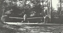 Messcherschmitt 109s in camouflaged revetments