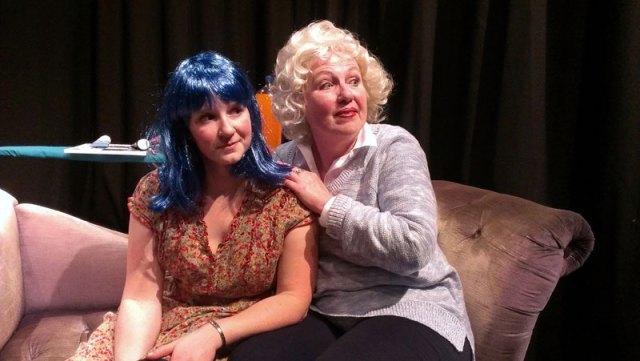 Heather Kellogg and Christina Augello in Rat Girl.
