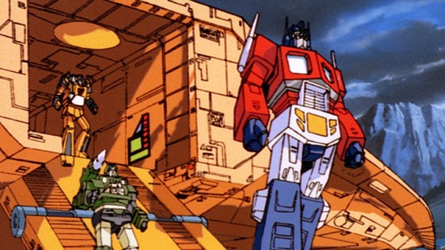 Peter Cullen was the first actor to voice Optimus Prime, in the 1980s TV cartoon.