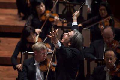 Michael Tilson Thomas with the SF Symphony