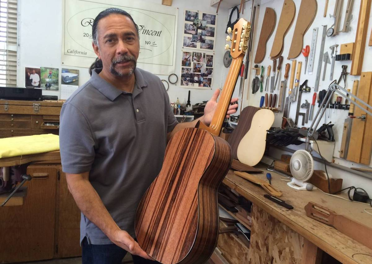 How a Former Inmate Got Out of Prison by Making Classical Guitars