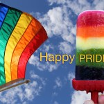 Fresh Fruity Rainbow Popsicles for Pride!