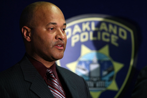Oakland's Interim Police Chief Howard Jordan