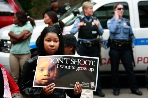 An anti-violence vigil. (Photo by: Scott Olson/Getty Images)