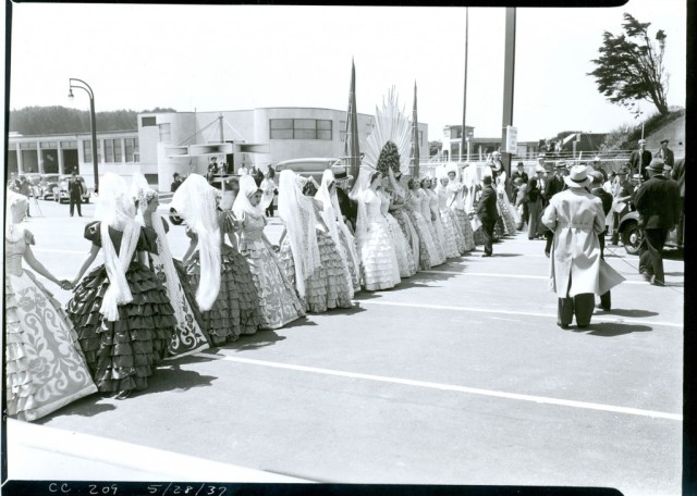 May 28, 1937 Fiesta Queens.