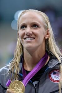 Richmond swimmer Dana Vollmer