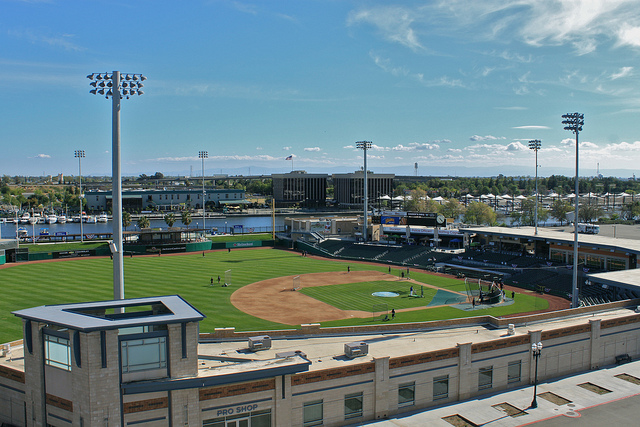 Stockton Ballpark. Photo by Matt Beckwith/Flickr.