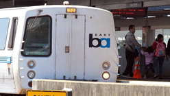 Measure B1 would have helped fund an extension of BART to Livermore, among other projects. (John Sullivan/Getty Images)