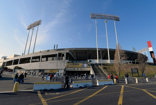 Oakland Coliseum pictured in early 2012 (Getty Images).
