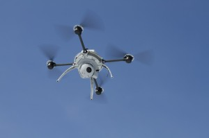 "Aeryon Labs submitted a bid to Alameda County to purchase this ""Scout"" surveillance drone. (Courtesy Aeryon Labs)"