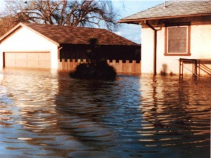 Below sealevel, Alviso has experienced severe flooding. (Dick Santos)