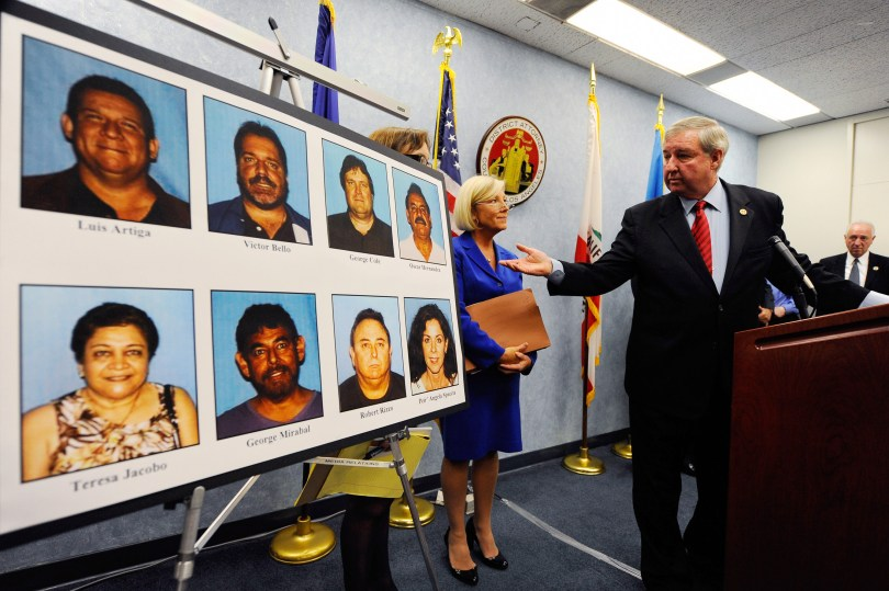 District Attorney Announces Arrests In City Of Bell Corruption Scandal