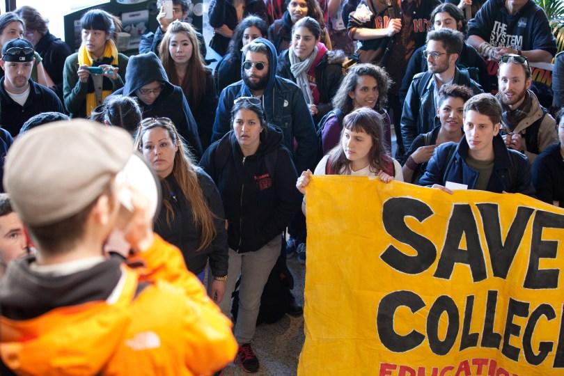 CCSF protest