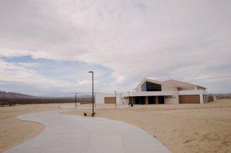 Copper Mountain College's Bell Center, a 40,000-square-foot multiuse facility. (Carlos Puma/California Watch)