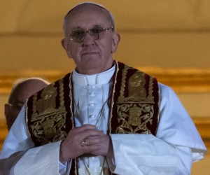 Argentina's Jorge Bergoglio, elected Pope Francis I appears at the window of St Peter's Basilica's balcony.        (Photo: Vincenzo  Pinto/AFP/Getty Images)