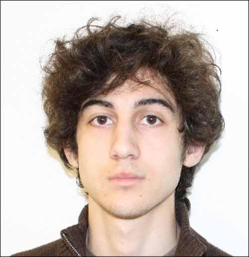 Dzhokhar Tsarnaev, 19, a suspect in the Boston Marathon bombings, is the subject of a massive manhunt. (Courtesy FBI)