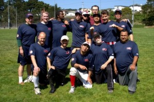 The Renegades of the San Francisco Gay Softball League (Photo courtesy of Renegades)