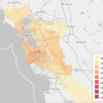 A Map of the Cheapest Places to Rent in the Bay Area