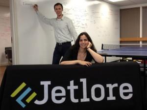 Jetlore founders Monste Medina and Eldar Sadikov. (Jetlore)