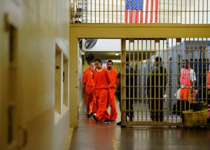 File photo. An inmate at Chino State Prison. (Kevork Djansezian/Getty Images)