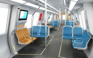 BART new train car