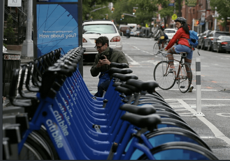 More than a million bike trips have been taken on Citibike since it launched in May. Photo: Peoplelookingatcitybike.tumblr.com