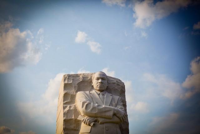 Martin Luther King Memorial in Washington, D.C. (Tom LeGro/PBS NewsHour/Flickr)