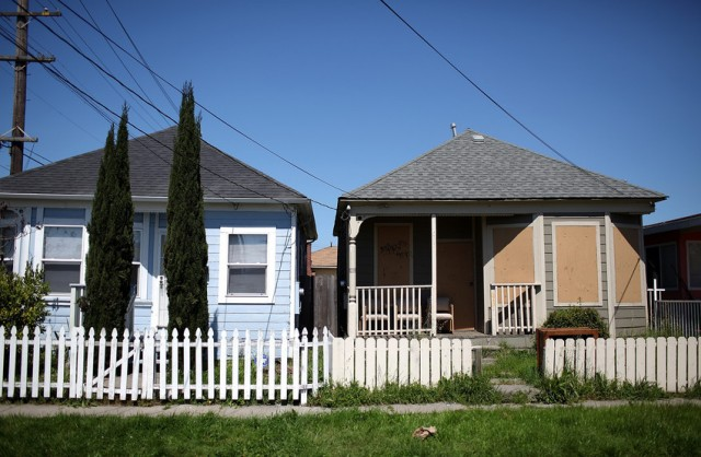 Richmond is attempting to use eminent domain to help 'underwater' mortgage holders. (Justin Sullivan/Getty Images)