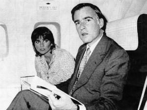 Jerry Brown and Linda Ronstadt in 1979. (Sacramento Bee Capitol Alert)