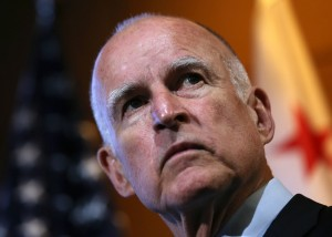 Gov. Jerry Brown signed domestic worker bill. (Justin Sullivan/Getty Images)
