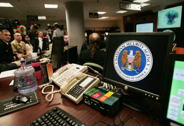 A computer workstation at the NSA Threat Operations Center at Fort Meade, Md. (Paul. J. Richards/AFP-Getty Images)