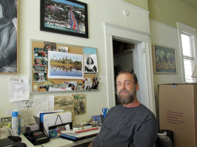 Peter Greene was evicted from his home in the Castro. (Bryan Goebel/KQED)