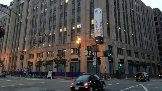 Twitter's IPO on November 7 has some San Franciscans asking whether the tech giant and others like it are sharing any of their success with the neighborhood. (Olivia Hubert-Allen/KQED)