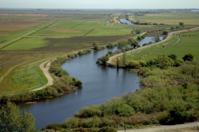 Part of the Sacramento-San Joaquin Delta, focus of a massive new water diversion and habitat restoration plan. (California Department of Water Resources).