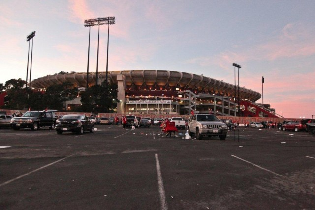 Several guests on Forum said that surviving the Loma Prieta earthquake was Candlestick's finest hour. Photo: Deborah Svoboda