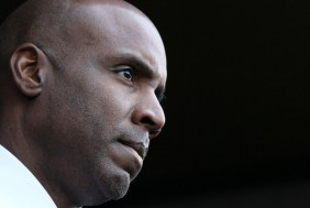 Barry Bonds leaves the San Francisco Federal Building in April 2011 after his conviction for obstructing a grand jury investigation. (Justin Sullivan/Getty Images)